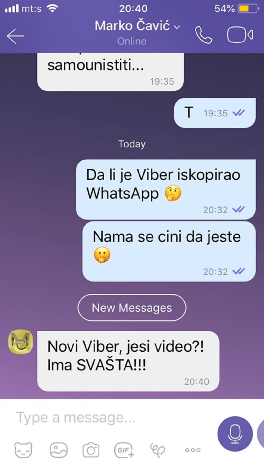 Šta nam donosi novi Viber?
