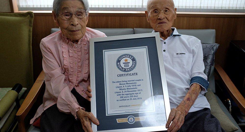 NAJSTARIJI PAR NA SVETU: Zajedno imaju 208 godina i slave osam decenija braka