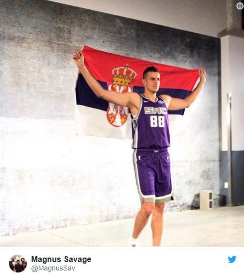 """NOVI """"KRALJ"""" U NBA LIGI Bjelica: Pokazaću da nisam samo šuter, nedostajaće mi """"osmica"""" u Sakramentu"""