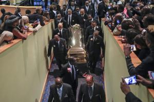 Areta Frenklin sahranjena u Detroitu posle šestočasovne službe
