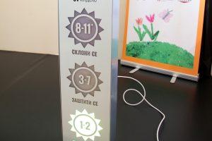 Postavljen prvi UV indikator u osnovnoj školi