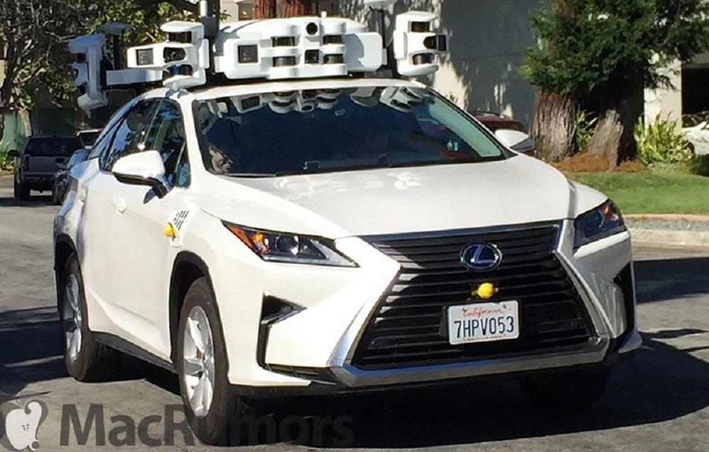 """Samovozeći automobil kompanije """"apple"""" je imao prvu nezgodu u vožnji"""