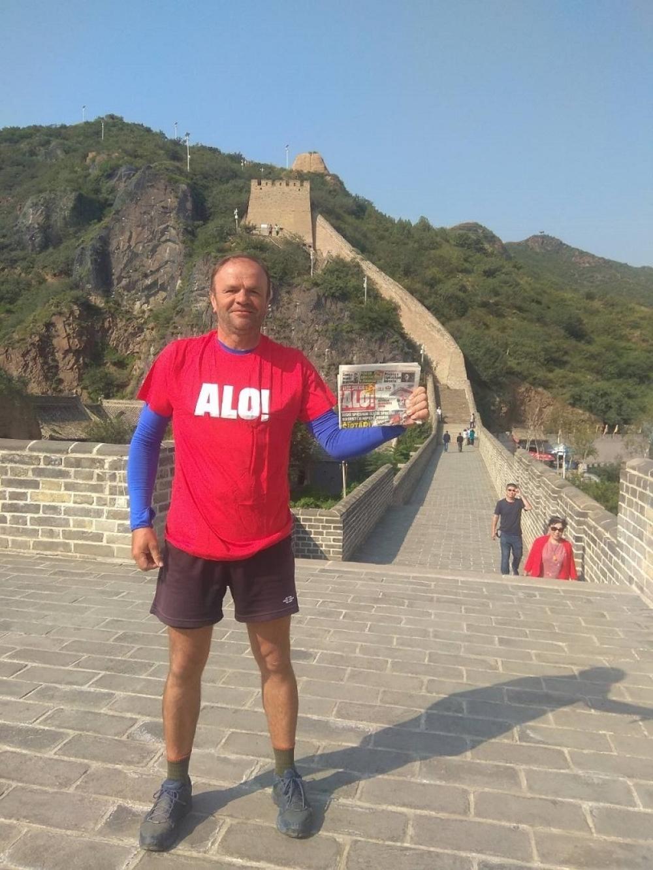 SRBIN ČIJI ĆEMO PODUHVAT VEČNO PAMTITI. Prešao 12.000 km da bi stigao na Kineski Zid, a onda uradio još neverovatniju stvar