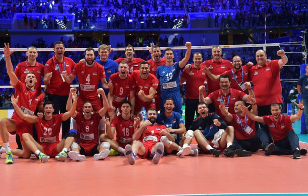 Odbojkaši Srbije ubedljivi protiv Nemačke na početku EP