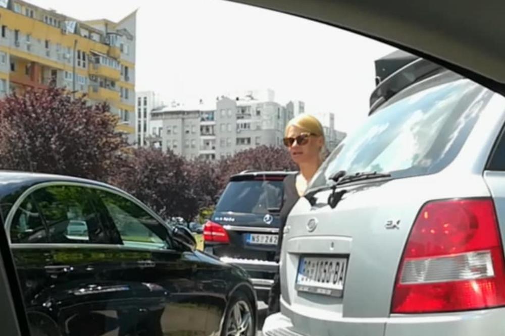 Nataša Bekvalac na izlazu iz Novog Sada imala je saobraćajni udes!