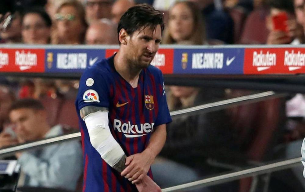 "VELIKI PEH ZA BARSU Mesi polomio desnu ruku, Argentinac propušta ""El Klasiko"""