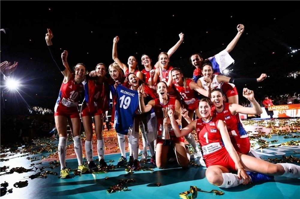 DOČEK ZA PAMĆENJE !!! SPEKTAKLOM će dočekati naše svetske šampionke u Srbiji