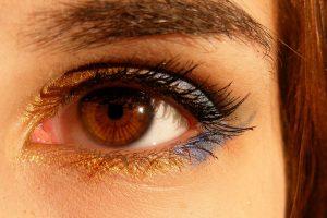 koža oko očiju