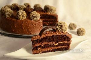 novogodišnja čokoladna torta