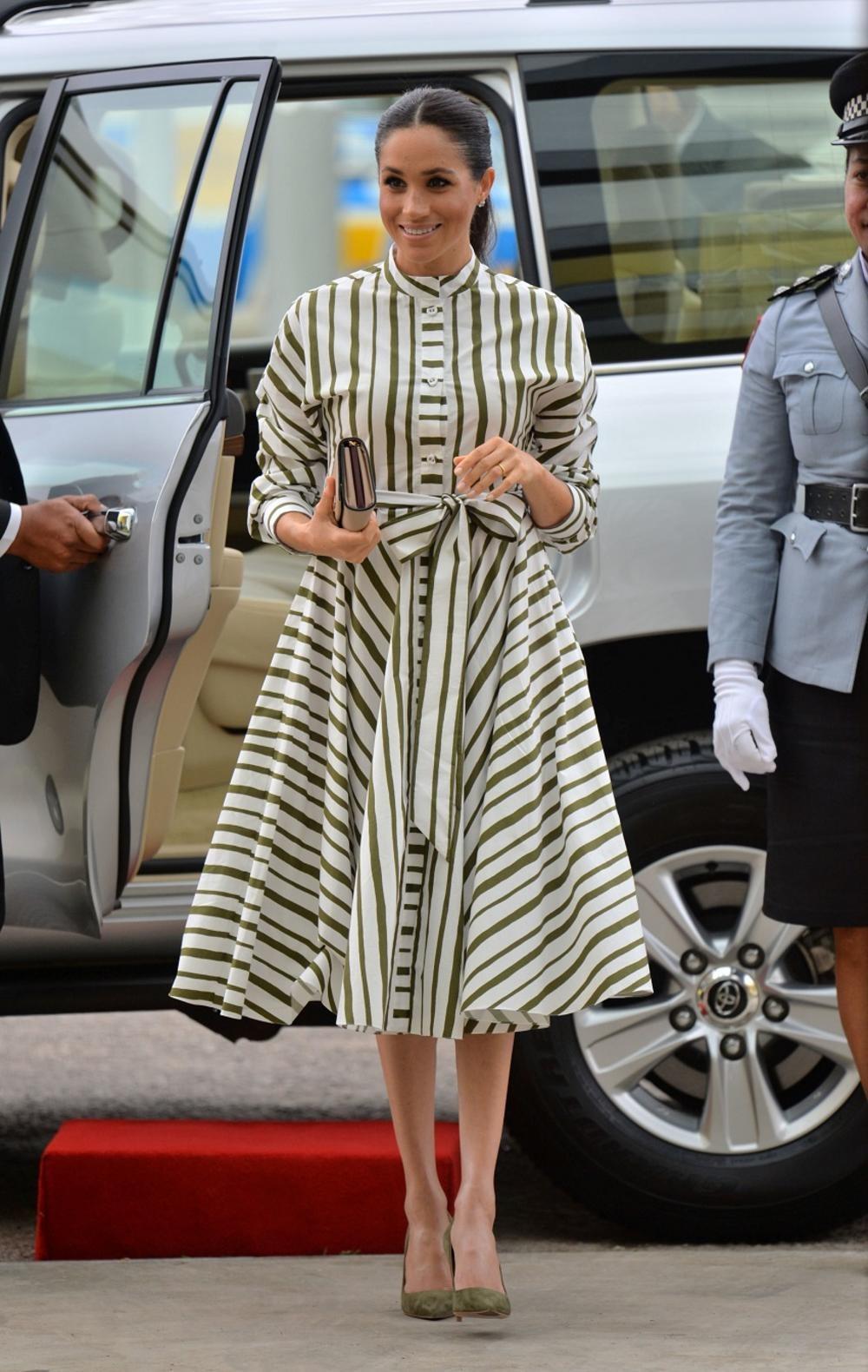 Običnim pamučnim haljinama, Megan Markl je oduševila ceo svet