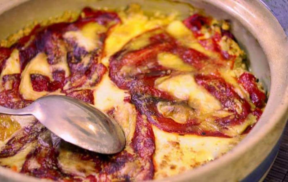 RECEPT DANA: Musaka od pečenih paprika