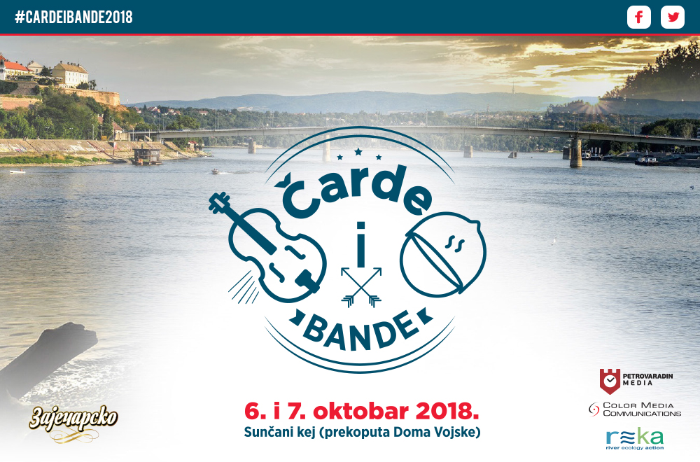 """Festival riblje čorbe i tamburaške muzike: """"Čarde i bande"""" u Novom Sadu!"""