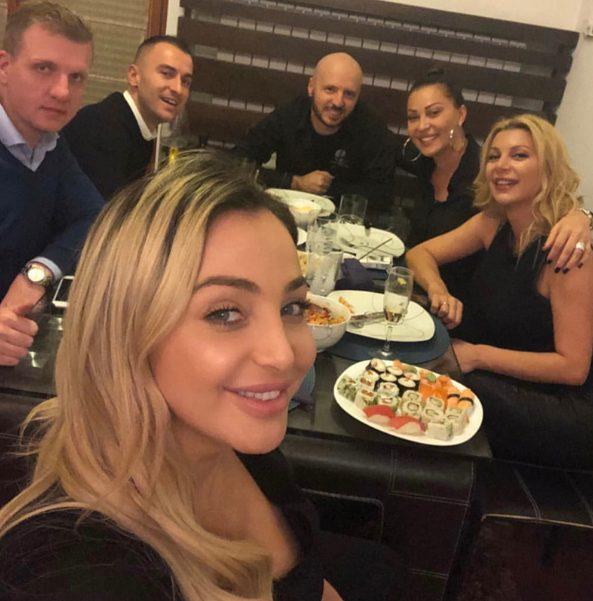 Maya Berović ugostila Cecu u svom domu