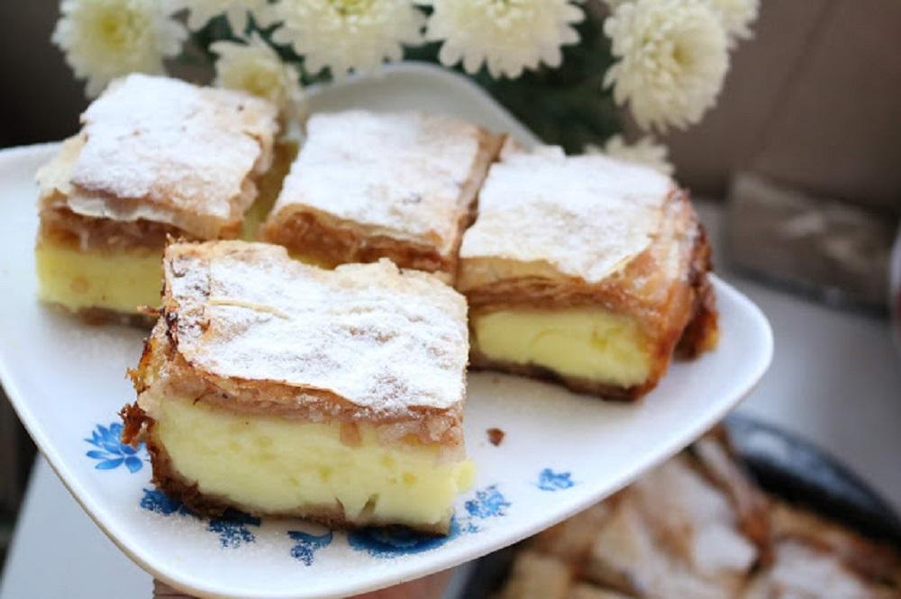 Jabuka, med i puding se savršeno uklapaju u bakinu pitu
