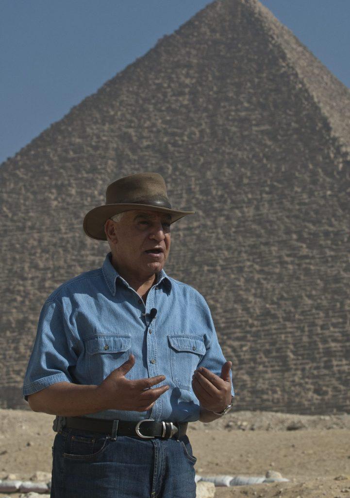 Svetski poznati arheolog dr Zahi Havas u Beogradu