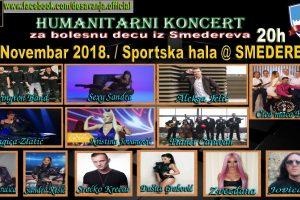 Humanitarni koncert za bolesnu decu iz Smedereva