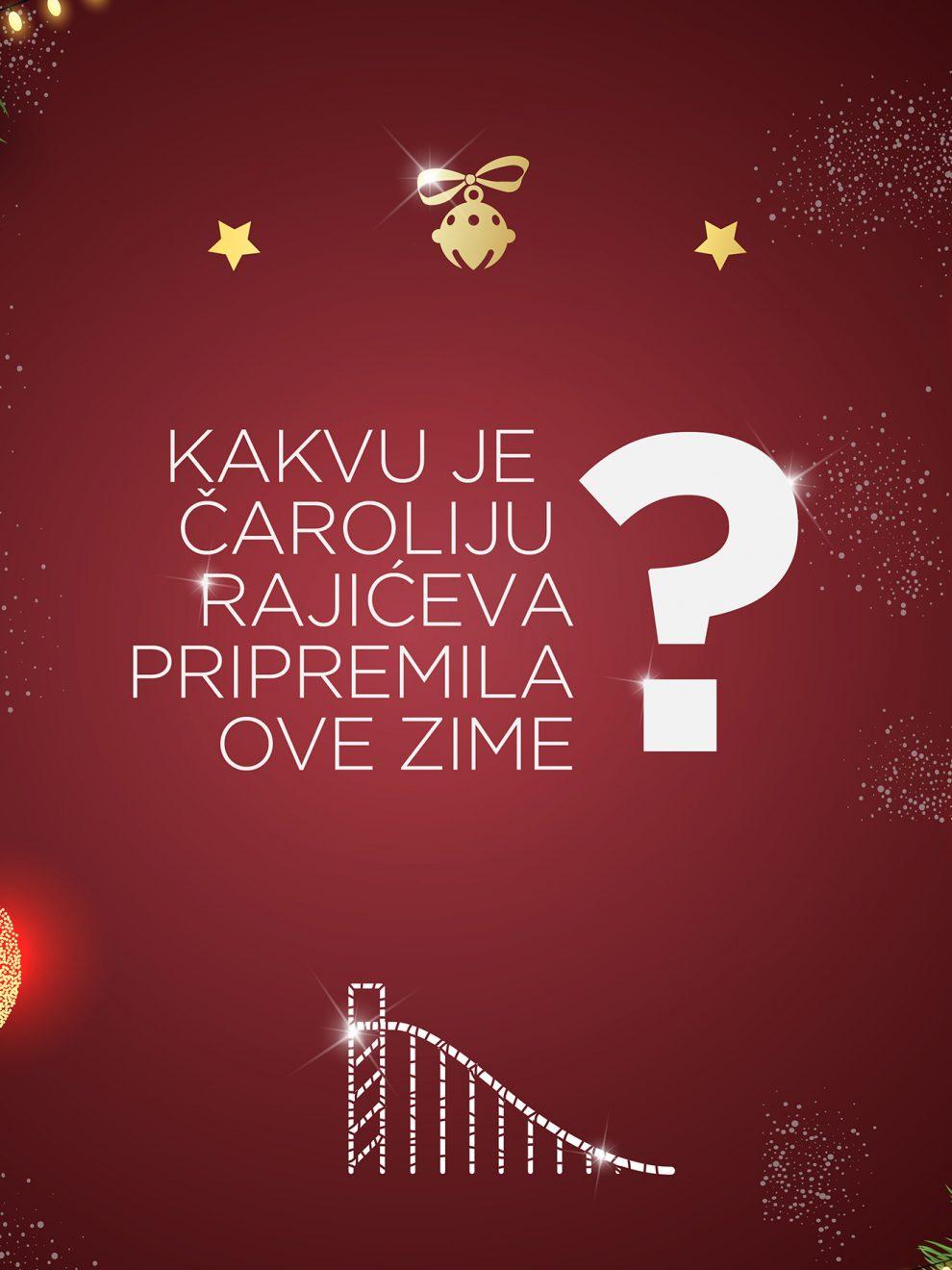 Da li ste spremni za novogodišnju čaroliju u srcu grada? Najuzbudljiviji šoping u Rajićeva Shopping Centru