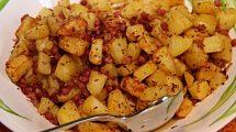RECEPT DANA: Ušuškani krompir sa kobasicom i začinima!