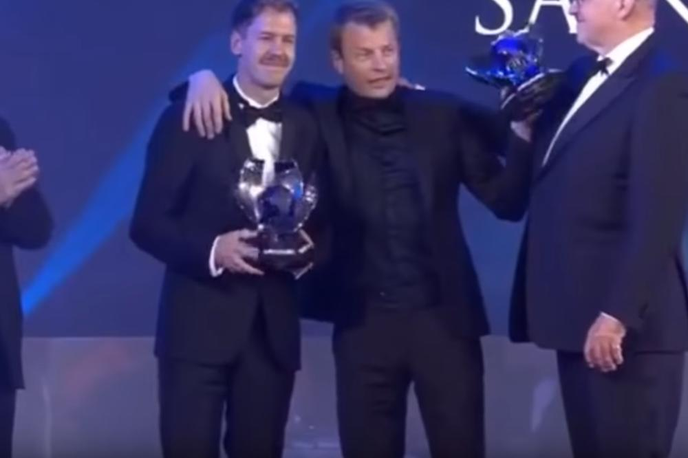 Bivši šampion sveta pod dejstvom alkohola na ceremoniji FIA