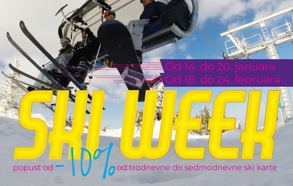 Ski Week od 14. do 20. januara