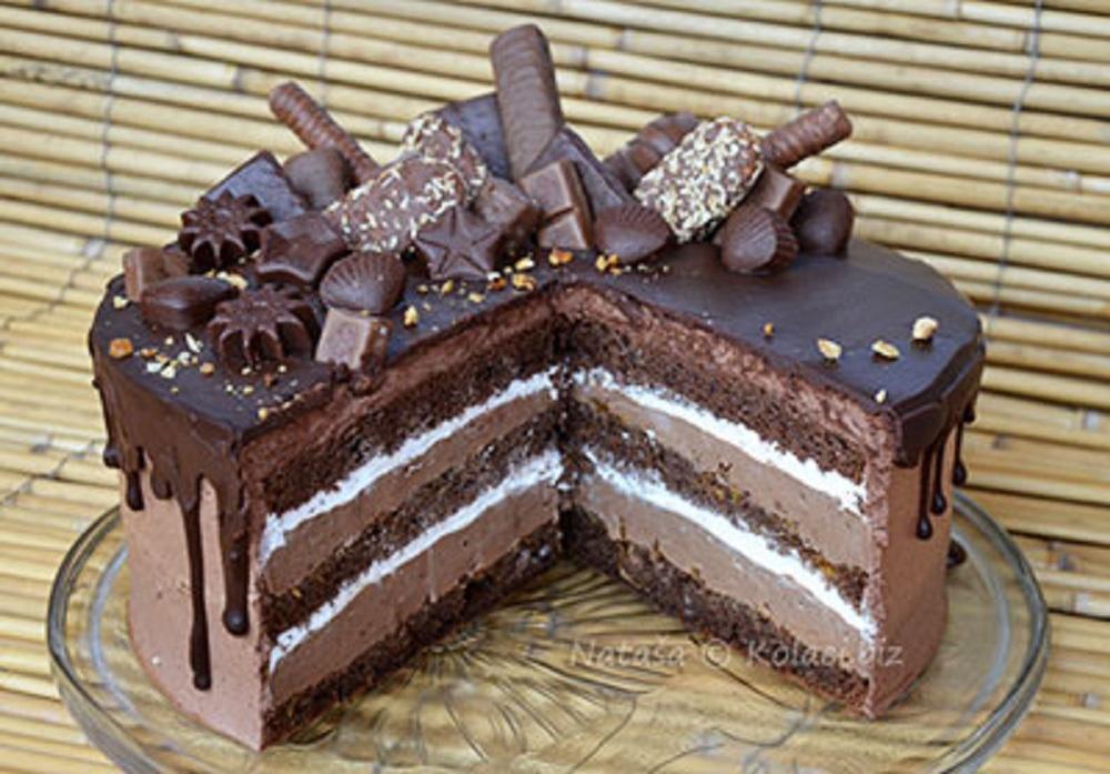 Savršena kraljica među tortama, koja je čokolada i kremasta
