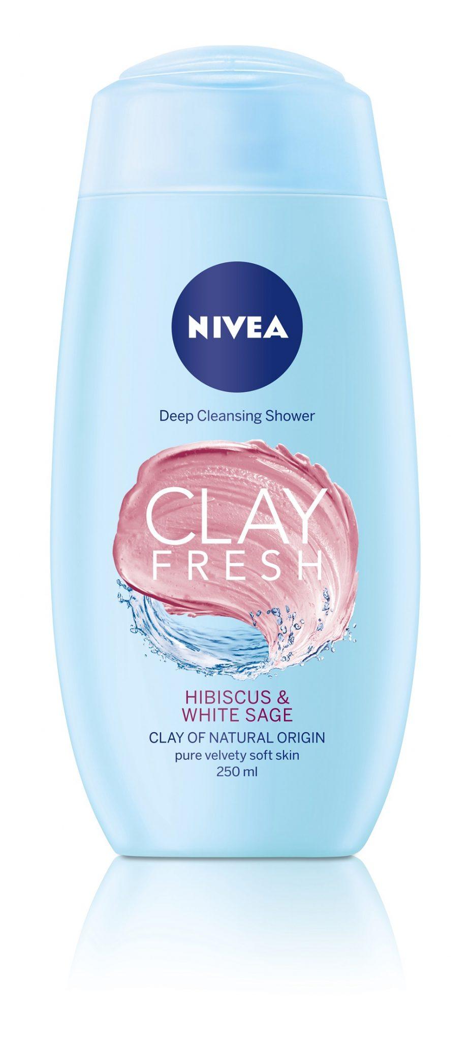 Novo: NIVEA Clay Freshgelovi za tuširanje