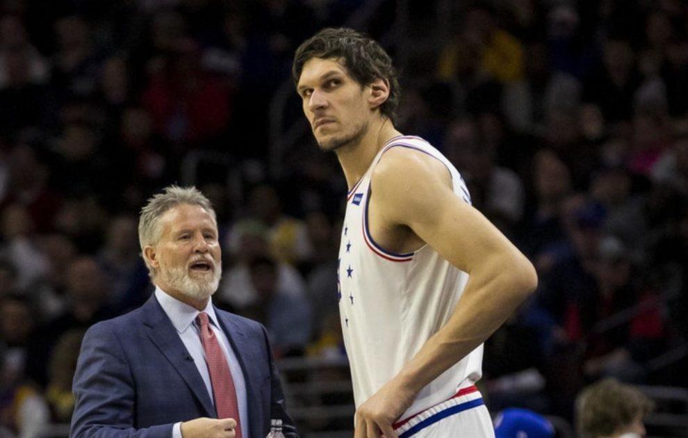 REKORDER BOBAN Marjanović majstorijama RASPAMETIO NBA LEGENDE, Filadelfija uzvratila udarac! /VIDEO/
