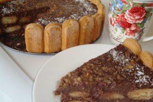 Od keksa, piškota i čokolade napravite brzi kolač