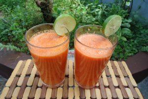 Vitamini za dobro jutro: Limunada sa šargarepom i pomorandžom