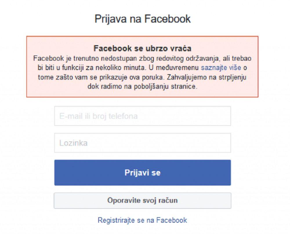 Instagram i Facebook i dalje imaju problema širom sveta