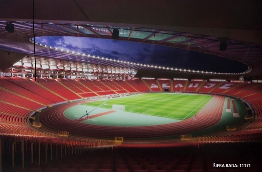 Stadion Crvene Zvezde menja svoj izgled. Ovako će izgledati u budućnosti