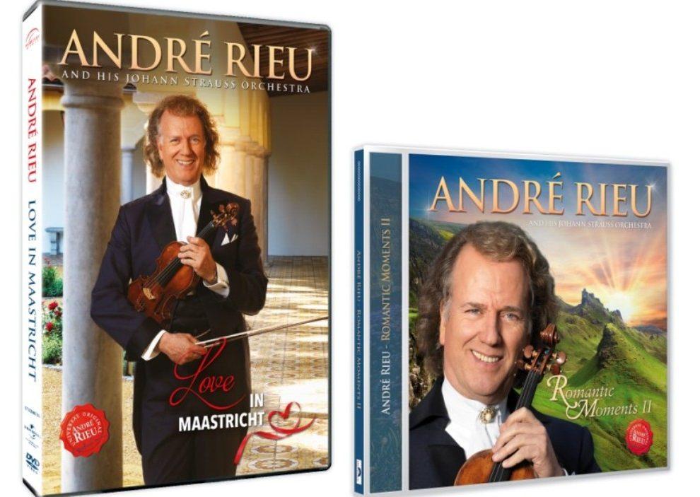 Ljubavne melodije Andre Rieua za Dan zaljubljenih