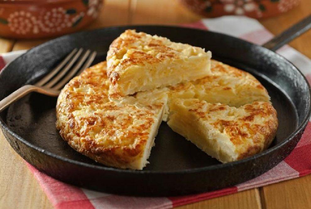 Španski tortilja iz rerne je obrok za peticu
