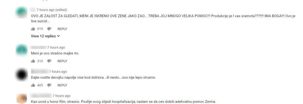 Zerina Hećo je sve prevarila !!! Obrijala glavu !!! Tviter ključa od komentara