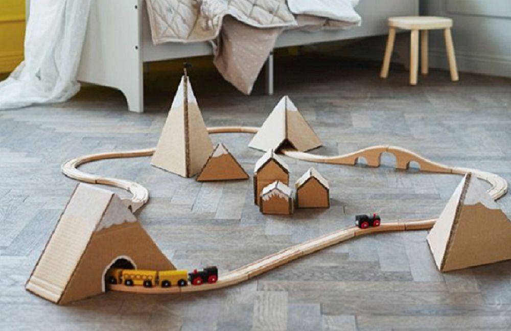 Napravite magični prostor za igru od kartonskih kutija (FOTO)