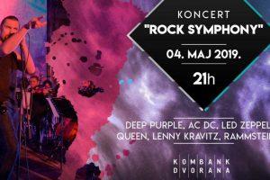 """""""Rock Symphony"""" iz Bitolja 4.maja u Kombank dvorani!"""
