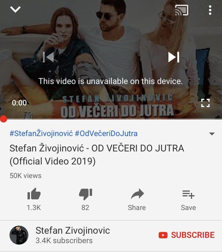 Spot Stefana Živojinovića je sklonjen sa YouTube-a, a evo i zbog čega