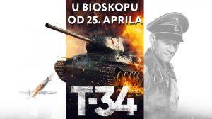Najgledaniji ruski akcioni film T-34 od ovog četvrtka u bioskopima!
