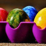 Ofarbajte jaja svilom, koristeći mušku kravatu i druge tkanine... Oduševićete se!