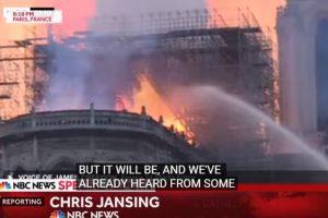 Izgoreo veliki deo čuvene katedrale NOTR DAM (VIDEO)