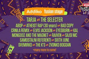 Muzičko šarenilo na Addiko Fusion bini na EXIT-U!