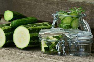 Osvežavajuća salata od tikvica
