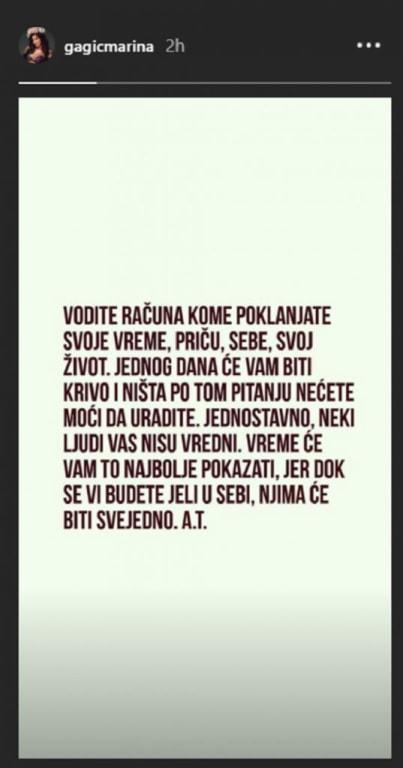 Verenica Darka Lazića objavila poruku koja je ŠOKIRALA SVE!?