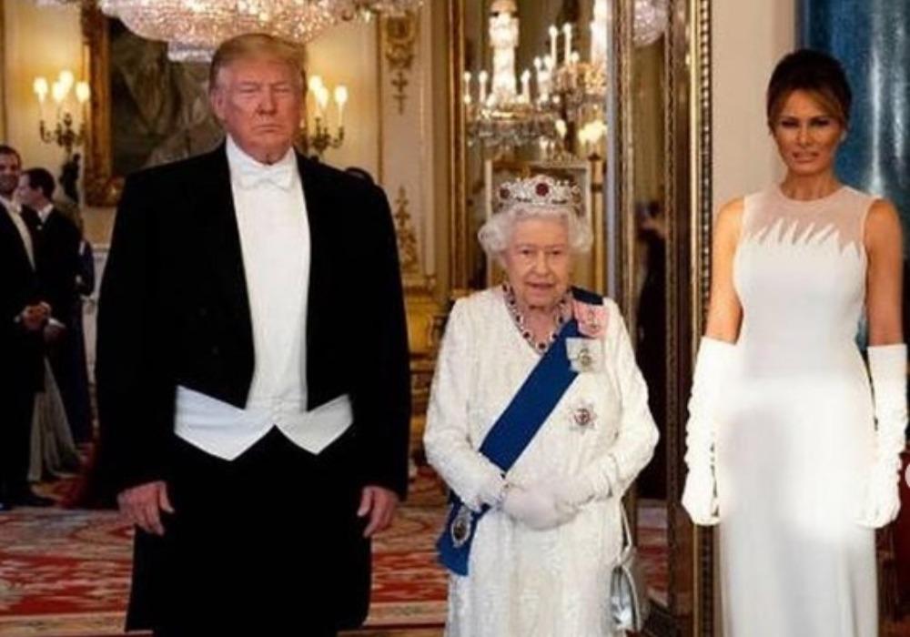 Evo šta je engleska kraljica POKLONILA Melaniji i Donaldu Trampu