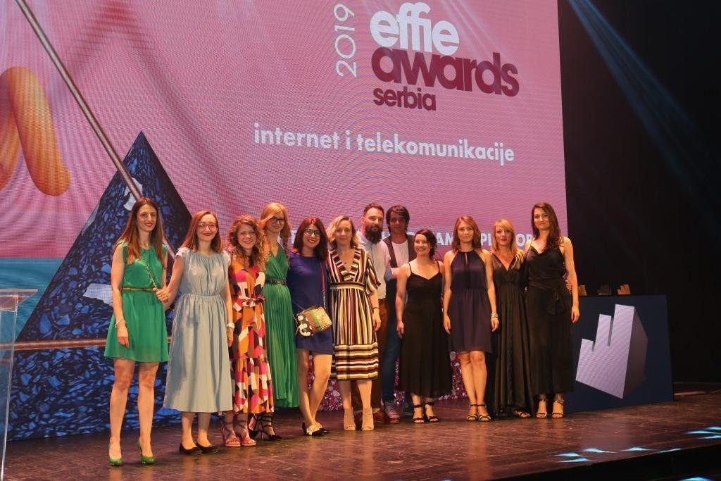 Dodeljene četiri srebrne i četiri bronzane Effie nagrade