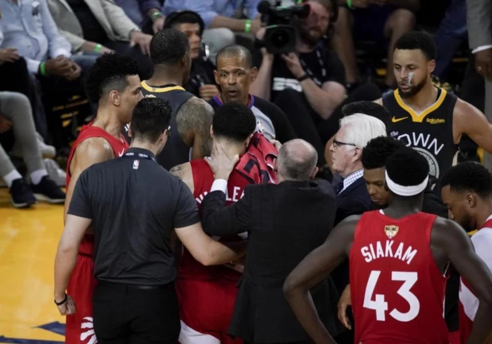 NBA U ŠOKU Leteli zubi po terenu, šampion na kolenima, ovakvo finale NIKO NIJE MOGAO NI DA SANJA /VIDEO/