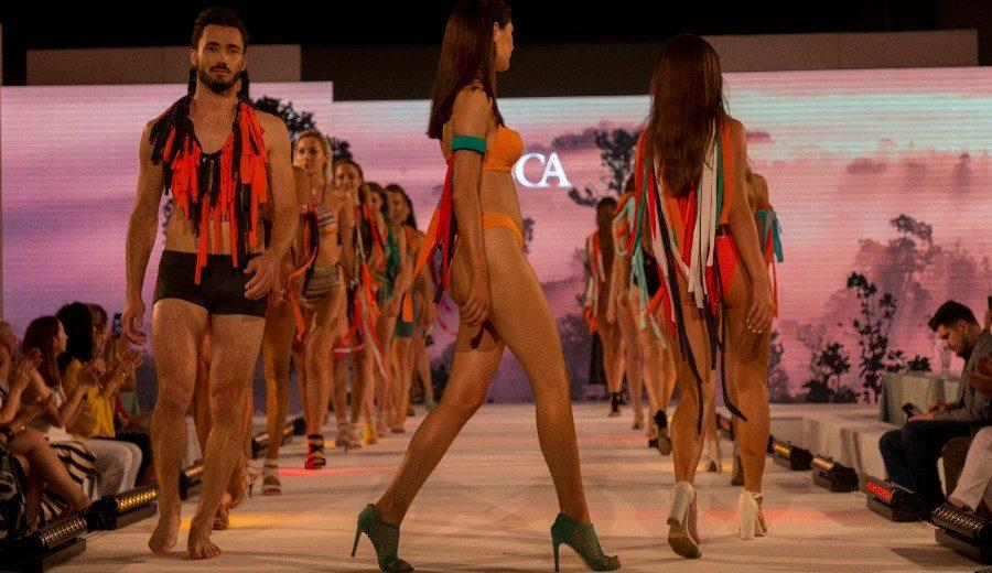 Suptilna zavodljivost i kolorit Afrike – modna revija Lisca za proleće/leto 2020.
