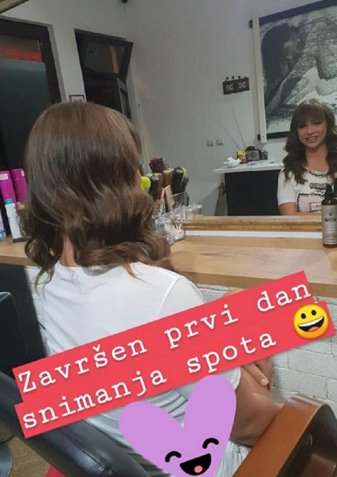 Miljana snimila prvi spot - KRALJICA RIJALITIJA!