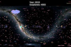 NASA objavila mapu 4.000 planeta koje su otkrivene izvan našeg solarnog sistema