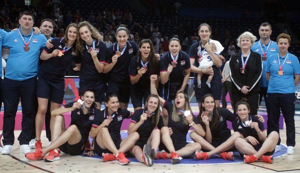 Srpkinjama bronzana medalja za utehu, Britanija bez šansi u Areni